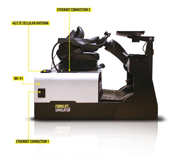 Forklift Simulator Virtual Reality Unit