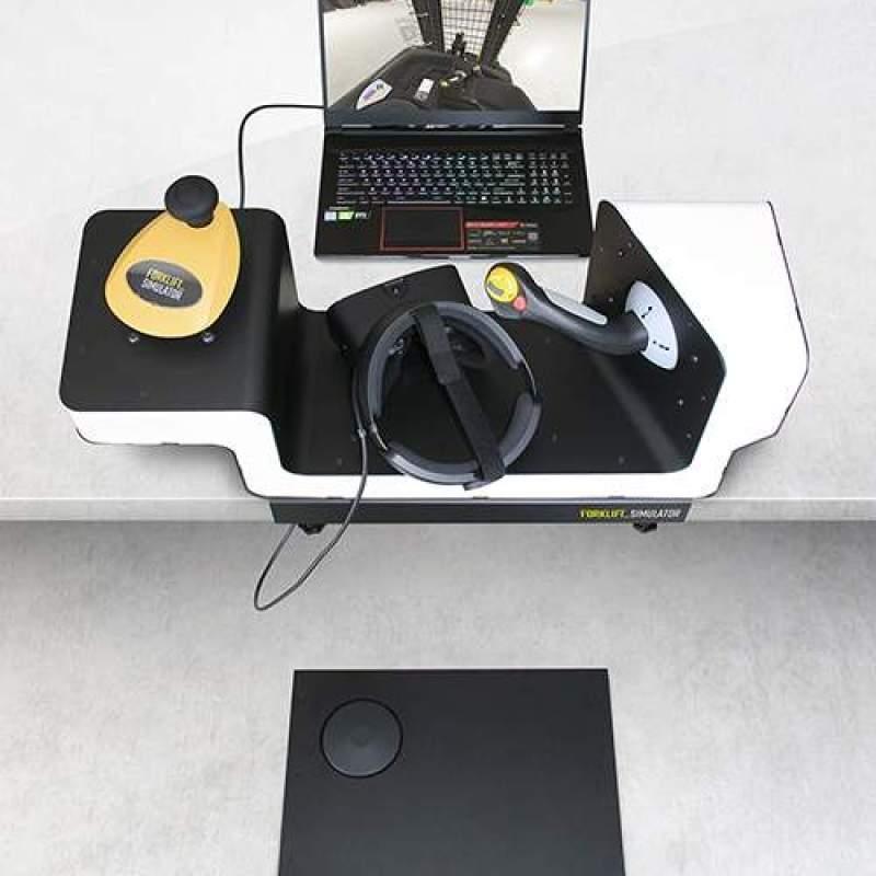 Stand Up Desktop Simulator laptop