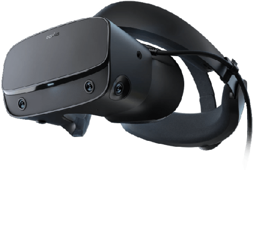 oculus vr with glasses