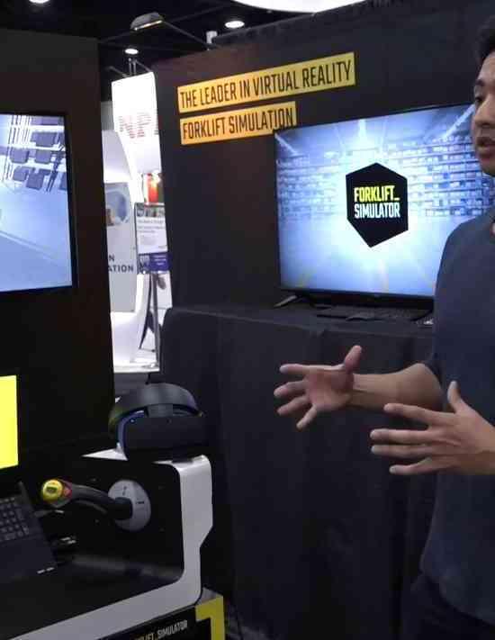 forklift simulator employee Modex