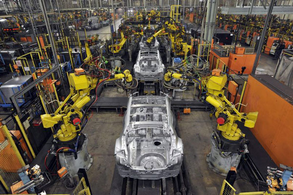 vr forklift simulator in car industry