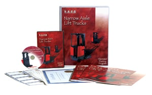 Narrow aisle training kit