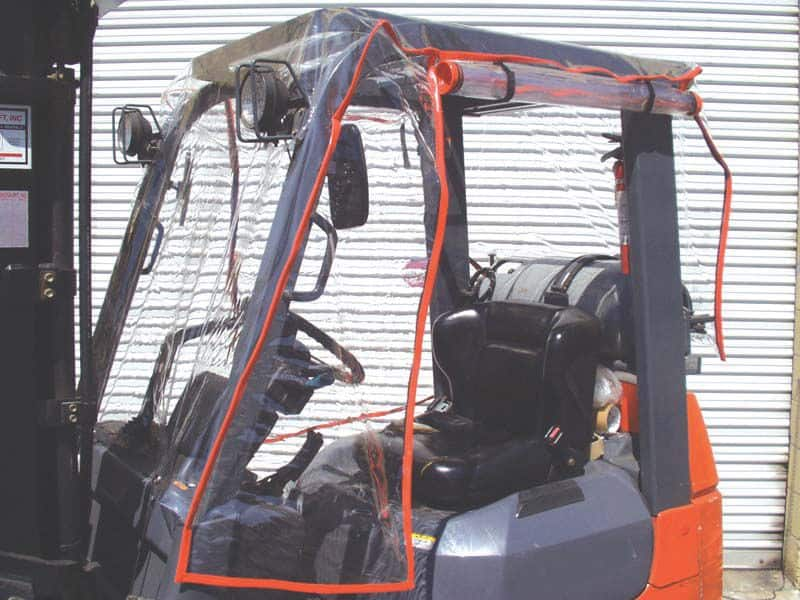 Forklift Atrium Weather Cover