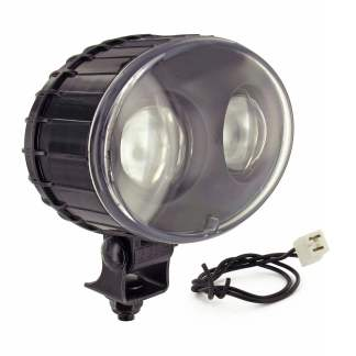 JW SPEAKER 770BLU BLUE FORKLIFT SAFETY SPOT LIGHT, 12-48V LED, 9W