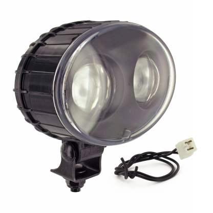 JW SPEAKER 770BLU BLUE FORKLIFT SAFETY SPOT LIGHT, 12-48V LED, 9W