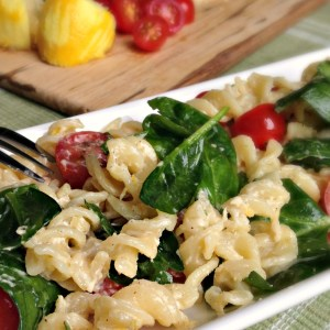 Creamy Lemon Pasta Salad