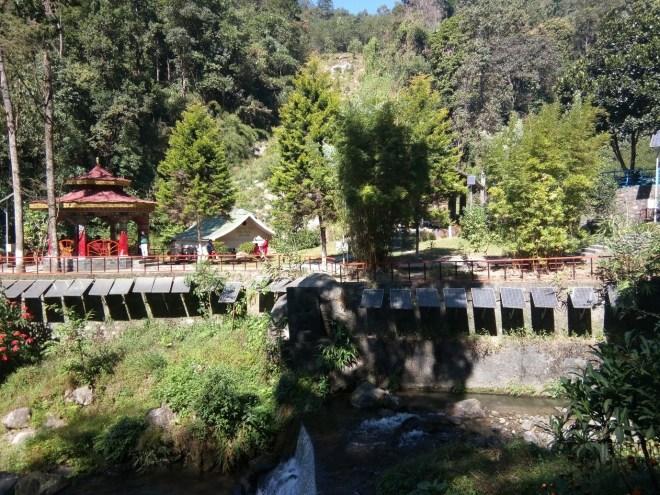 Amidst Gangtok valley