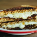 fig buffalo milk grilled cheese