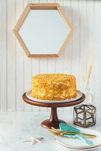 lemon crunch cake hawaii fork to belly