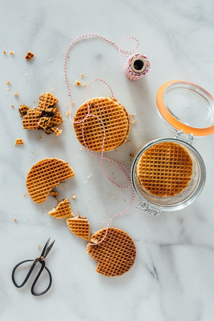 stroopwafel fork to belly