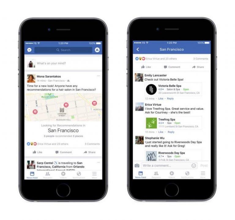 ora su facebook i tuoi amici possono consigliarti cosa fare 1 801x750 768x719 1 | Forlani Studio