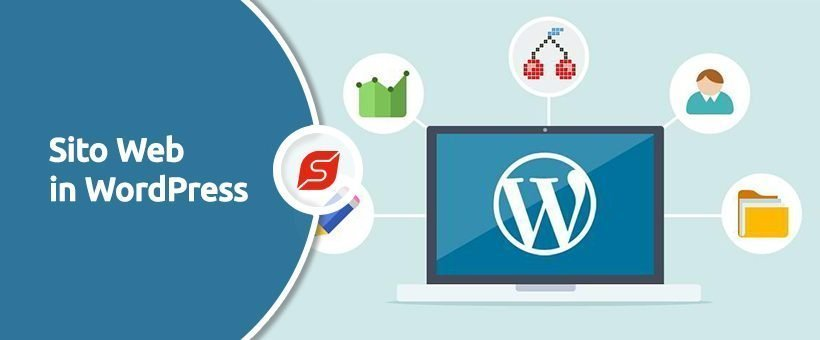 sito web wordpress