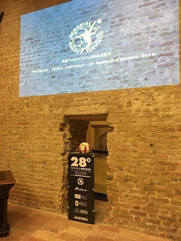 Evento galà presentazione 29 Memorial Mazza