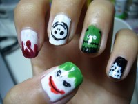 Crazy Halloween Nail Art Ideas - for life and style