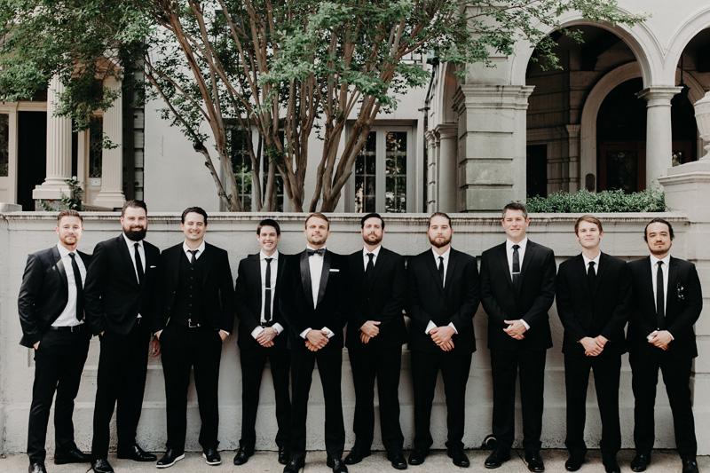 Modern Wedding Groomsmen Virginia