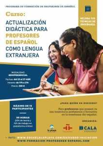 Formación ELE Malaga Abril 2018