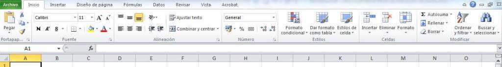 Principales funciones de Excel2