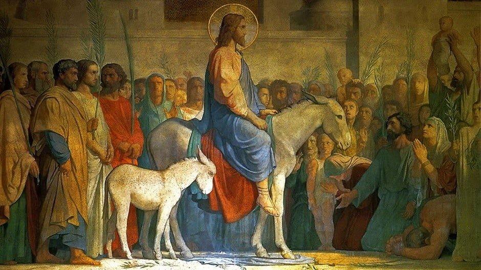 Entrada de Jesucristo a Jerusalen