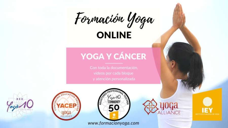 FORMACION YOGA ONLINE - YOGA Y CÁNCER