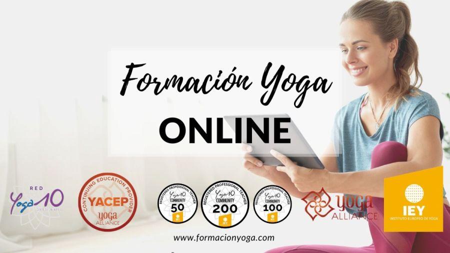cursos y formaciones de Yoga online