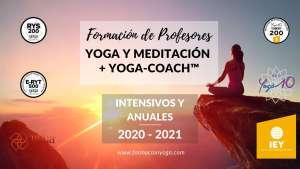 YOGA Y MEDITACIÓN + YOGA-COACH 2021