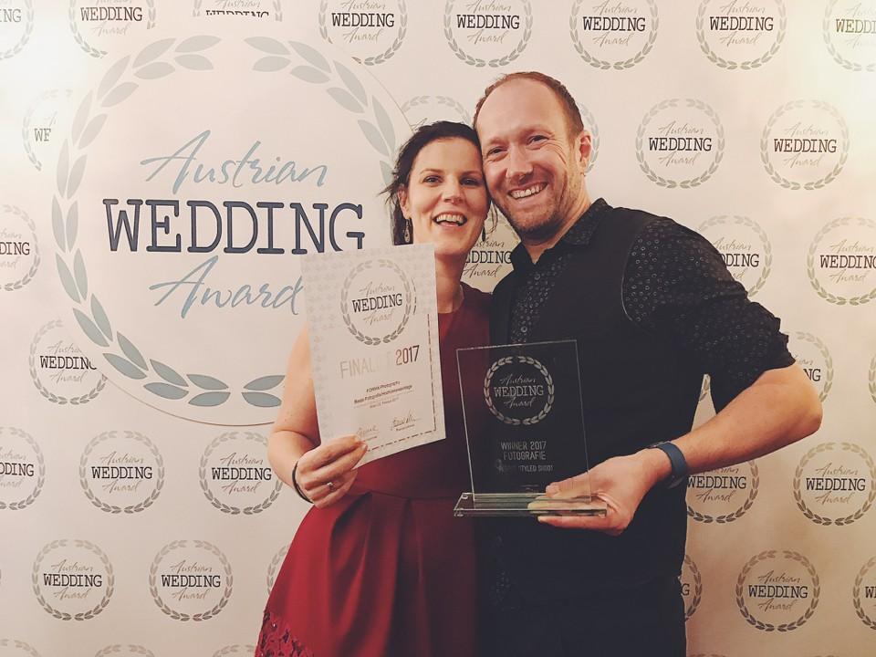 Verleihung und Sieger Austrian Wedding Award | Bester Hochzeitsfotograf Österreich | FORMA photography | Best Wedding Photographer Austria