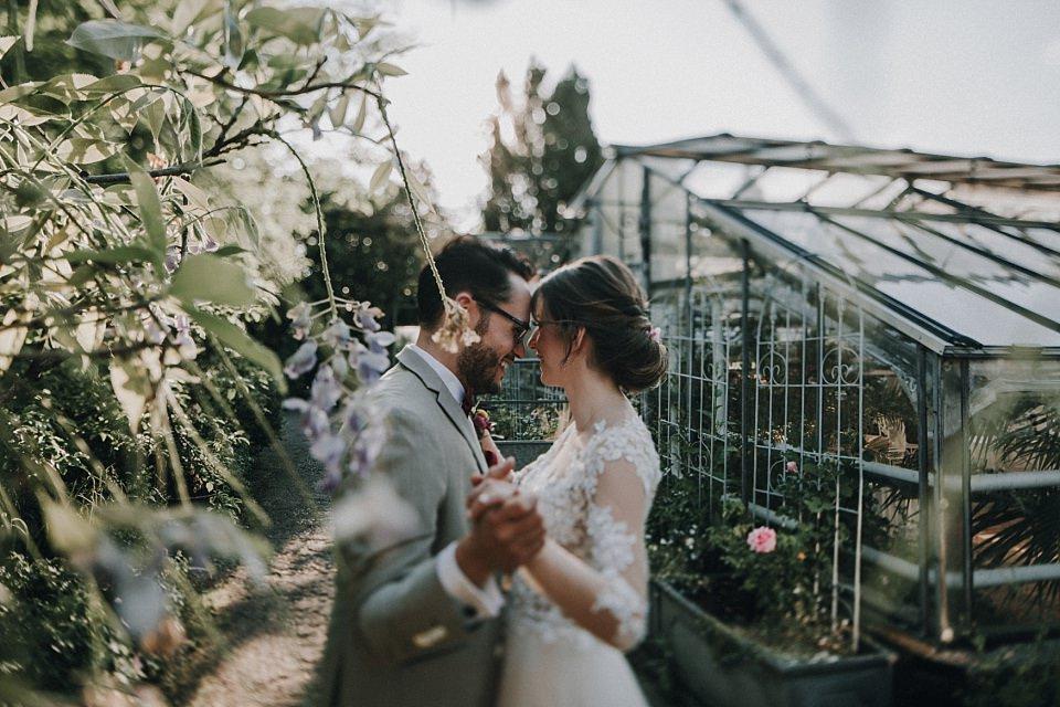 Die Alte Gärtnerei in Taufkirchen, München: Heiraten in einem Gewächshaus