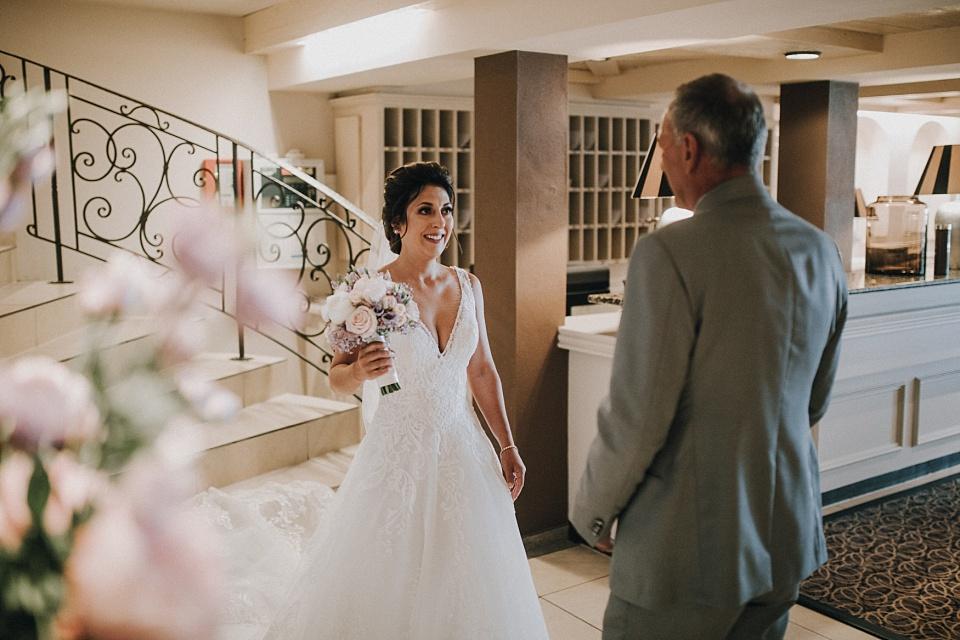 Hochzeit am Achensee, Strandhotel Entners, First Look, Vater