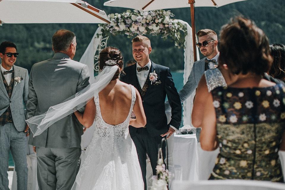 Hochzeit am Achensee, Strandhotel Entners, Seeterrasse