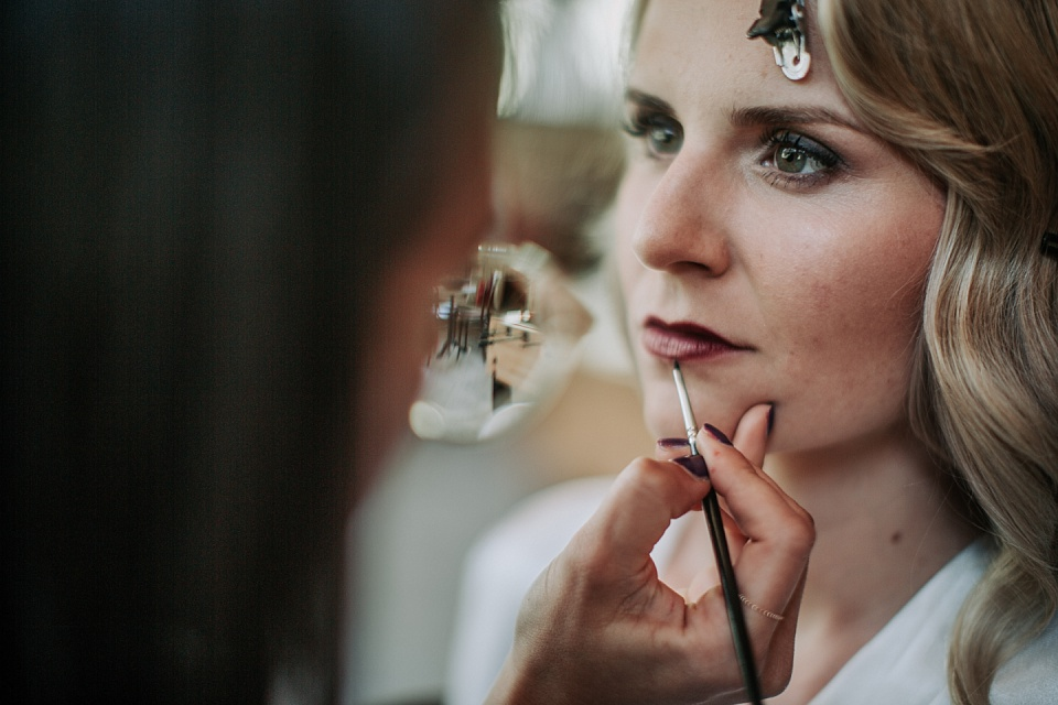 Getting Ready, Make-up, Haare, Braut