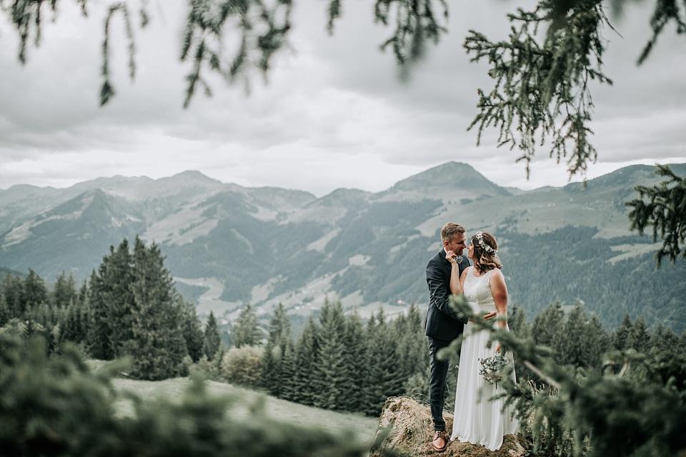 Berghochzeit, Maierl Alm, Berge, Shooting, Brautpaar, Wilder Kaiser