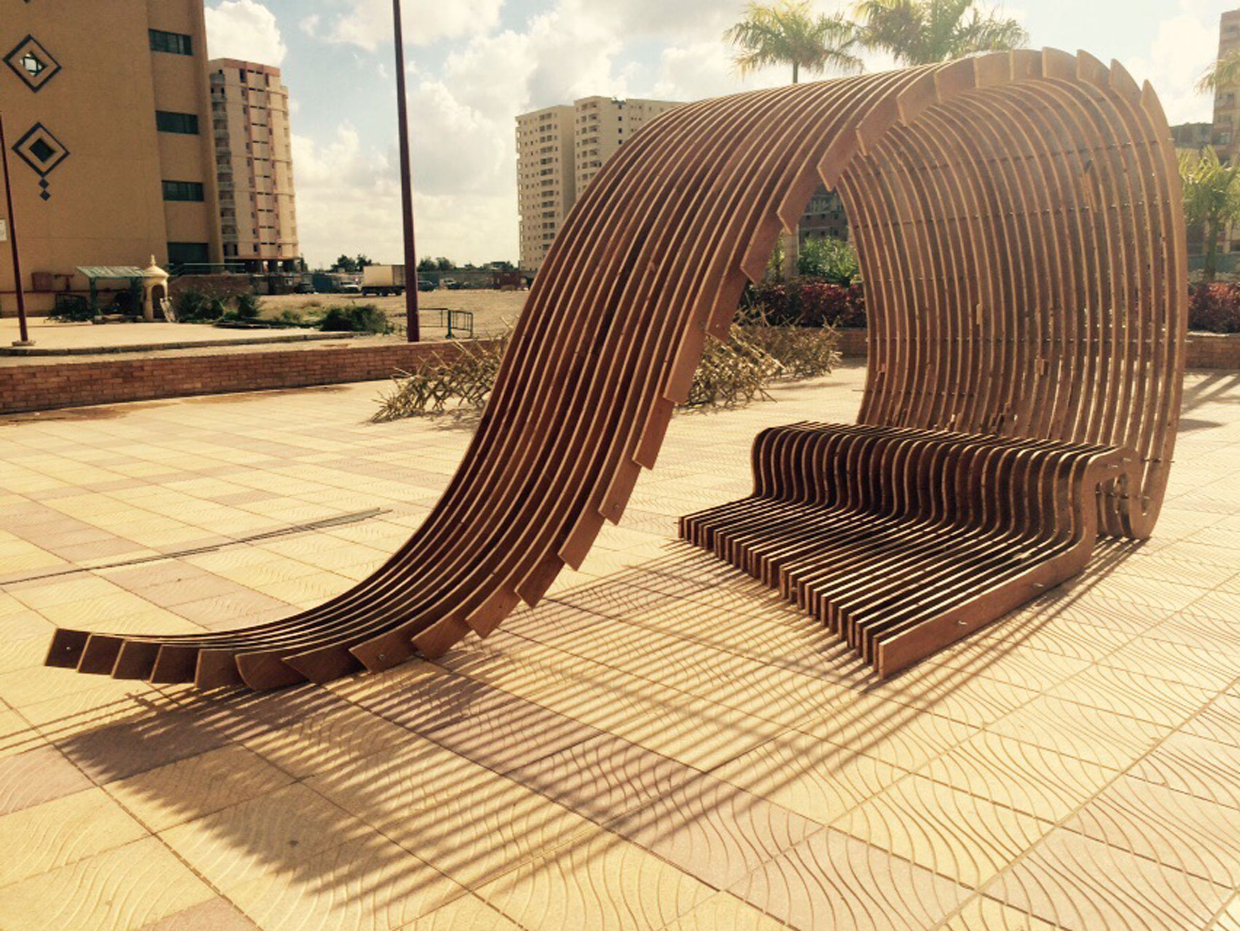 FORMAKERS  GoldenSection Contouring Pavilion  Pharos