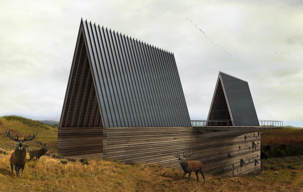 Formakers Ark House Axis Mundi
