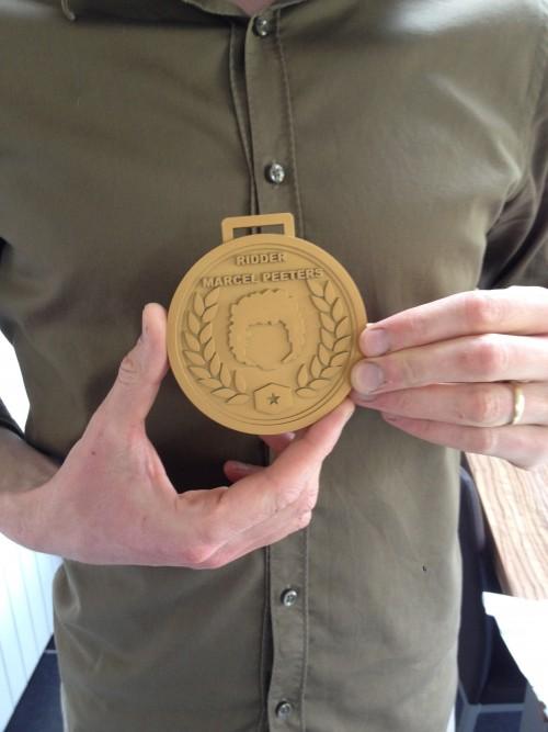 Formando 3D printing portfolio - Medaille Iedereen Beroemd VRT één