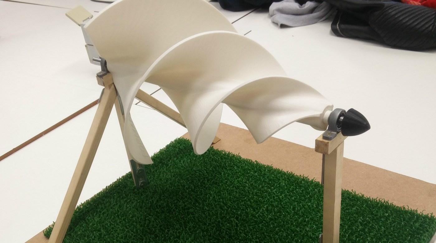 3D print Archimedes schroef_Formando