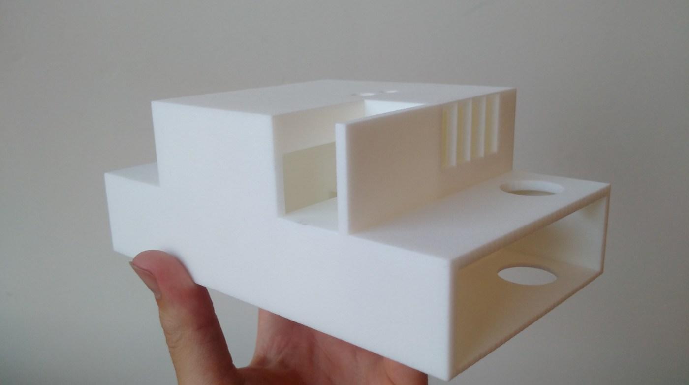 3D maquette Lieven Block_Formando