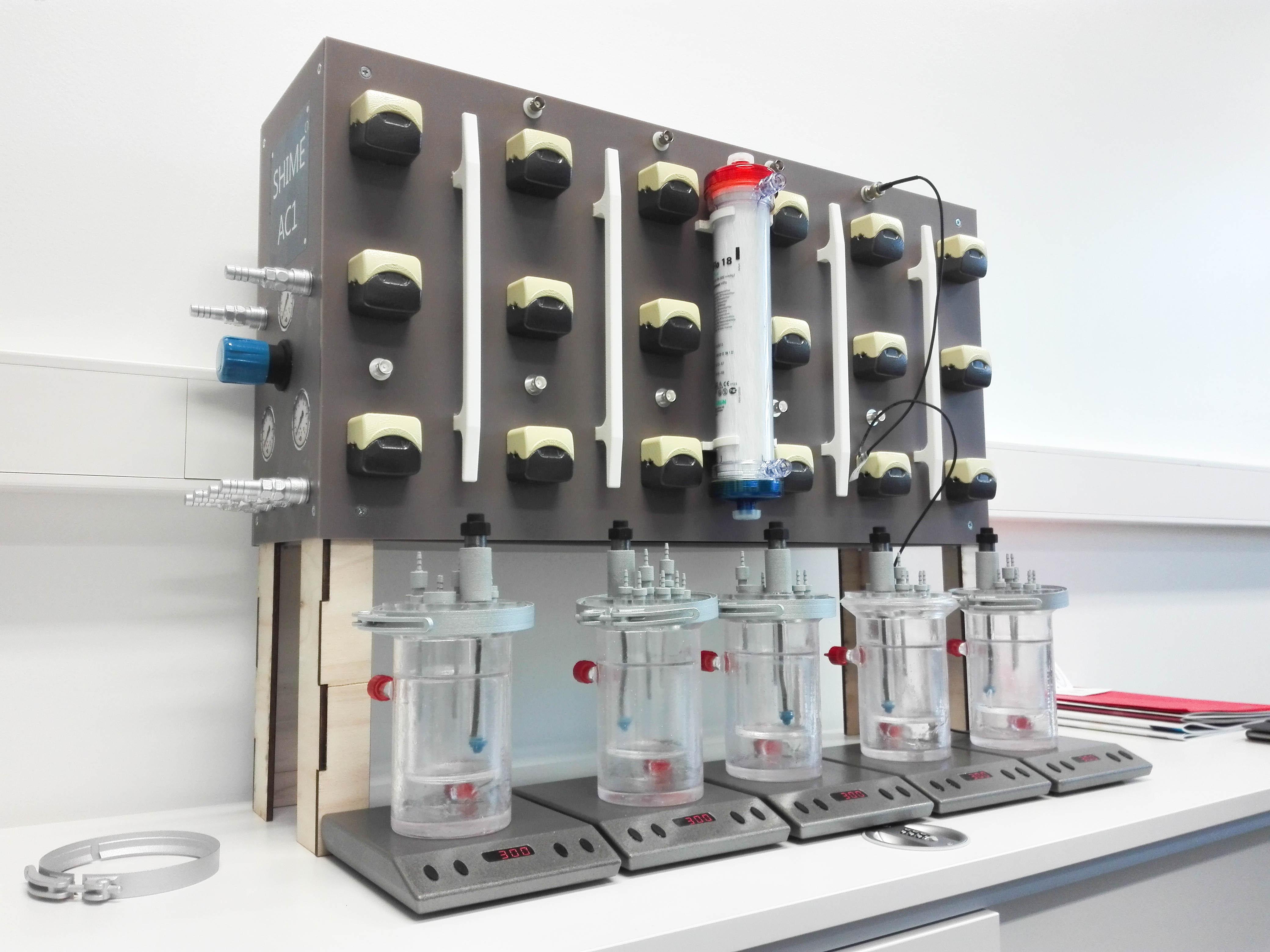 Presentation model Labo model simulation of digestion system