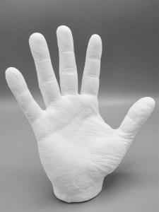 3D geprinte hand
