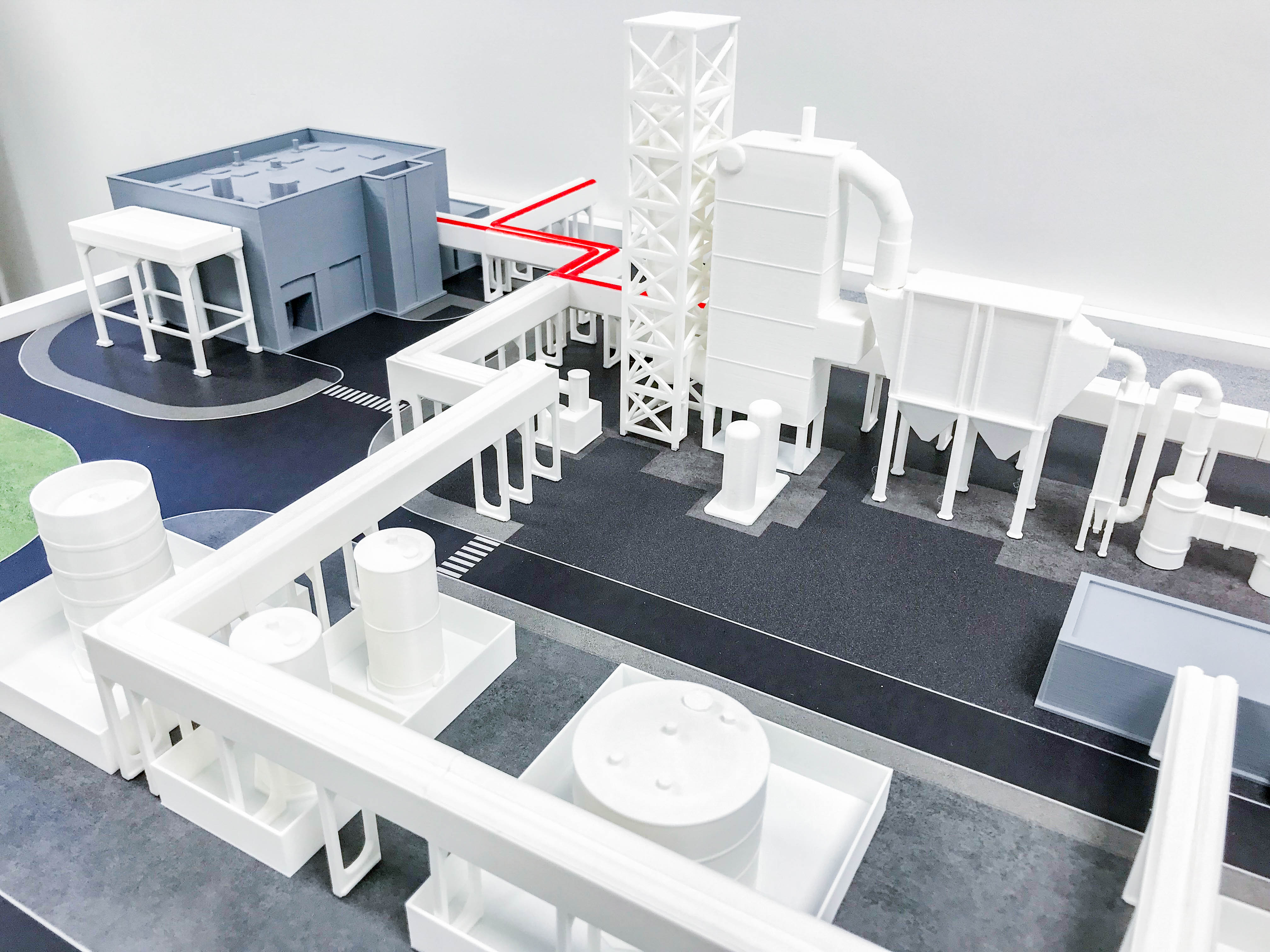 Indaver presentation model 3D print