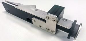 Mechanische fitting combinatie van 3D print stukken met metaal plaatwerk