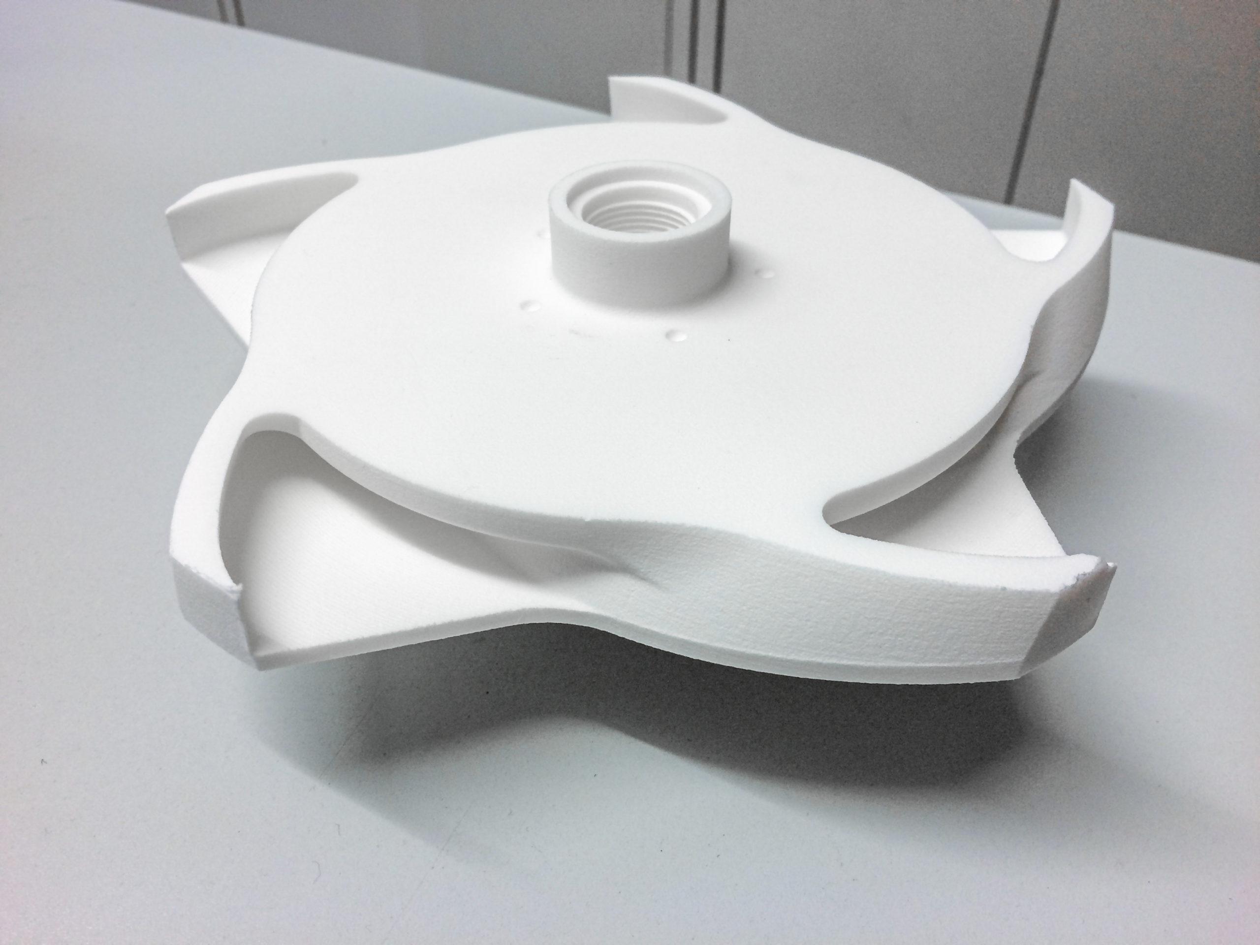 Pomp schroef / impeller Nylon print