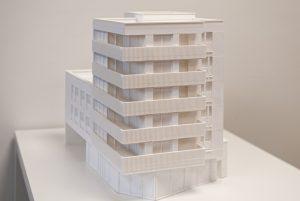 Perspectief 3Dprint maquette