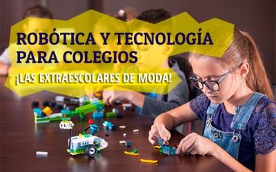 Extraescolares de robótica y tecnología para colegios