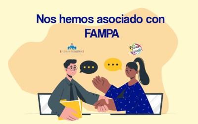 ¡Nos hemos asociado con FAMPA!