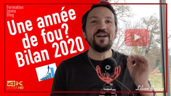 une année de fou bilan 2020