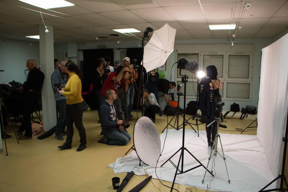 Studio et modèle