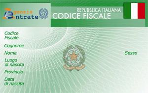 Richiesta Attribuzione E Verifica Del Codice Fiscale Del