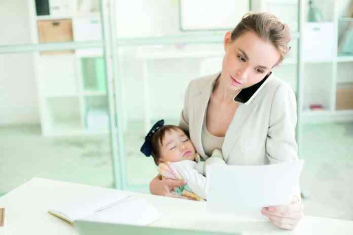 maternità al lavoro