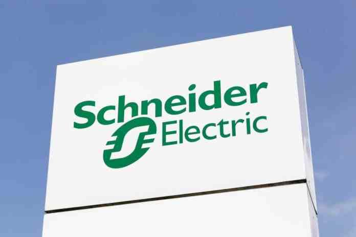scritta schneider electric