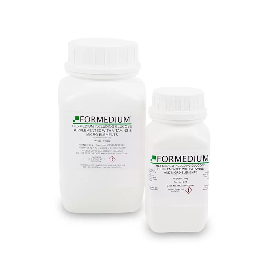 HL5 Medium including Glucose supplemented with vitamins and micro-elements